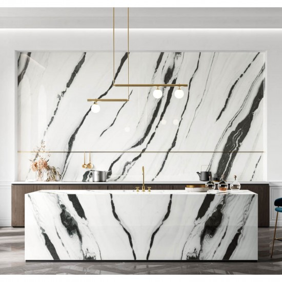 PANDA WHITE CONTINUOUS VEINING  | Lux Experience
