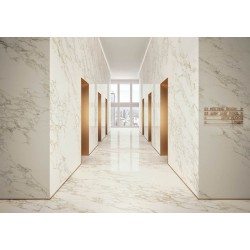 CALACATTA GOLD CONTINUOUS VEINING | Marble Experience