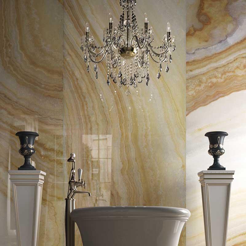Onyx Look Porcelain Tiles