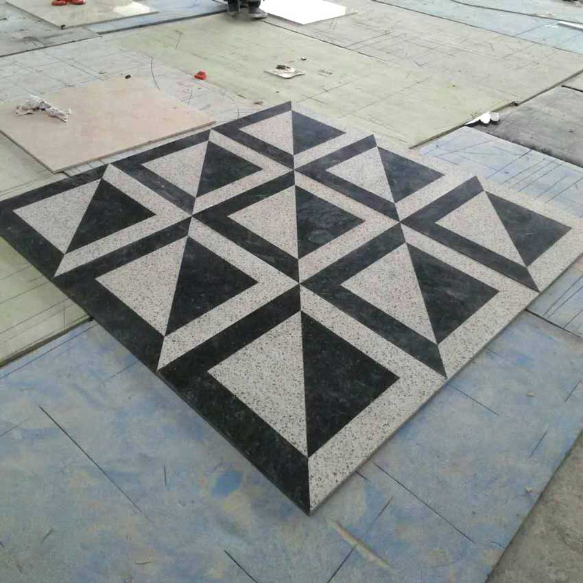 Stonix - Waterjet Granite Pattern Fabrication