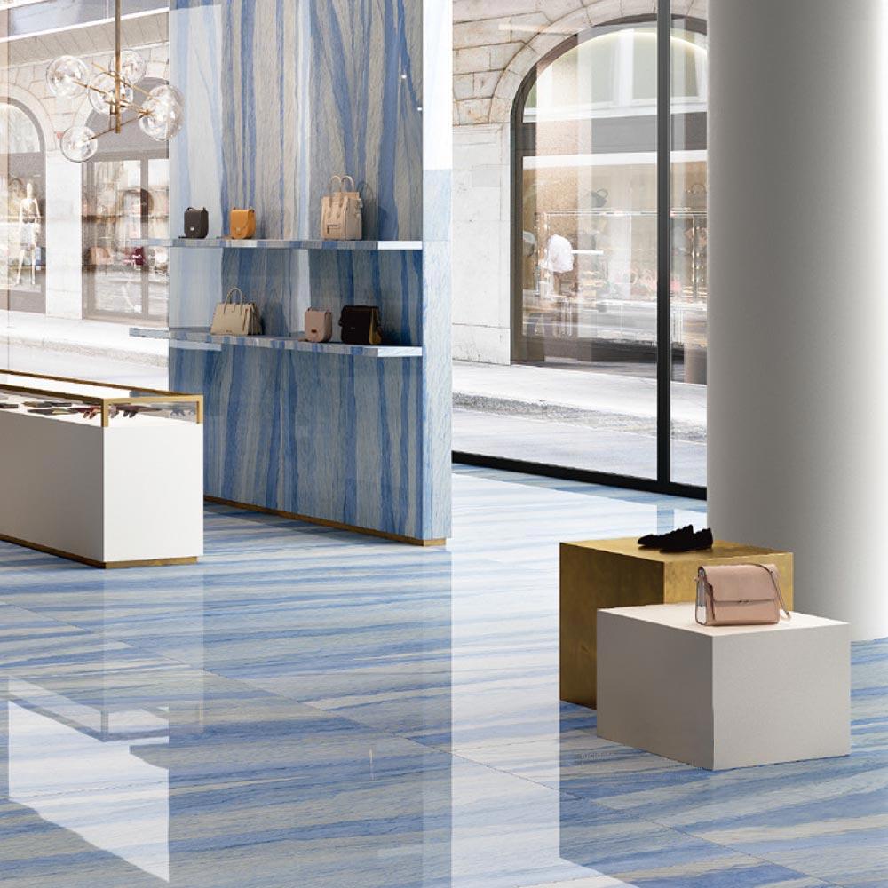 Azul Larger Format Porcelain Slab Floors